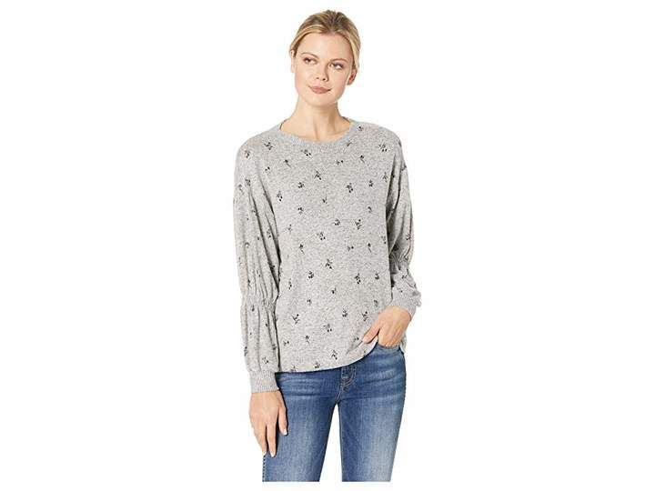 febf71552208b Bobeau B Collection by Avah Ruched Long Sleeve Pullover | Products ...