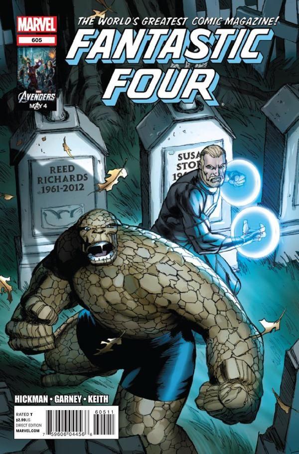 Fantastic Four Vol. 4 # 605 by Ron Garney
