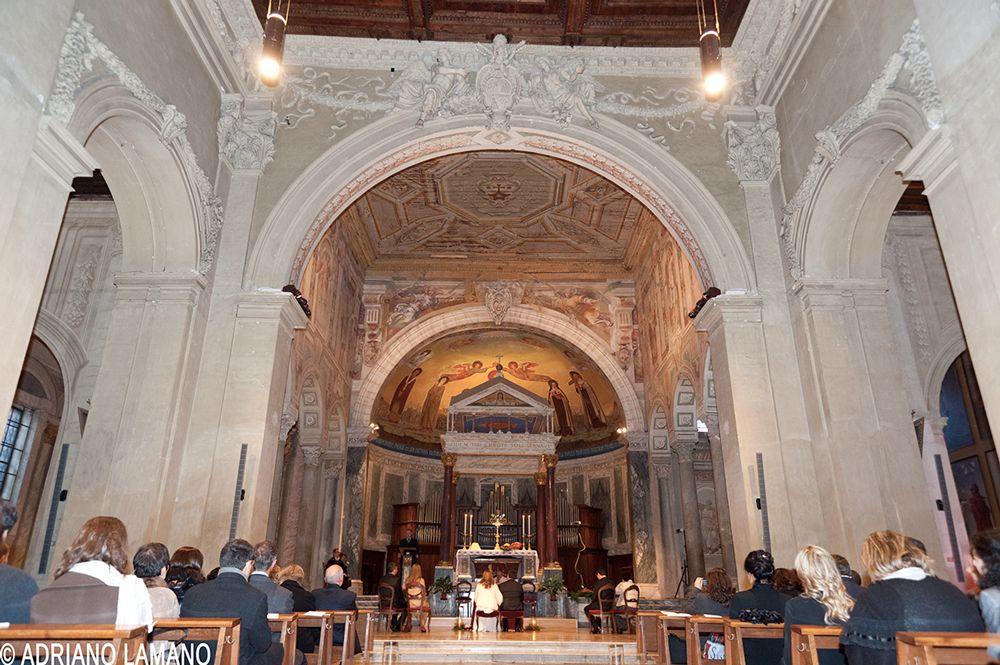 Chiesa Di San Pancrazio A Roma Matrimonio Chiesa Matrimonio In Chiesa