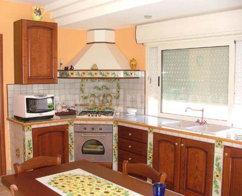 cucina muratura angolare - Cerca con Google | Houses & Design ...