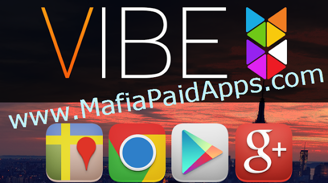 Vibe Icon Pack v4.3.6 Apk Beautifully crisp icons with an