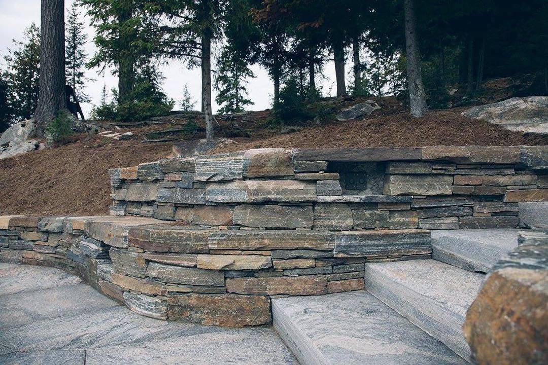 The Art Of The Dry Stack Stone Wall Stacked Stone Walls Stone Wall Stacked Stone