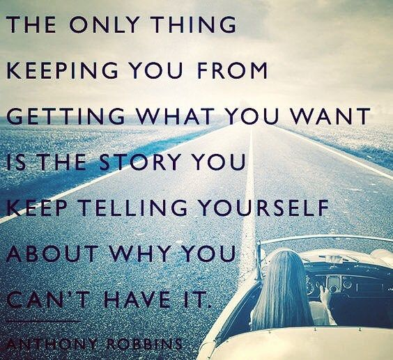 Start telling a new story. #quotesoftheday #mondaymotivation #quotestoliveby #quotestagram #tonyrobbins by robertimbriale