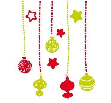 Vinilos navidad vinilos decorativos navide os pared - Vinilos decorativos de navidad ...