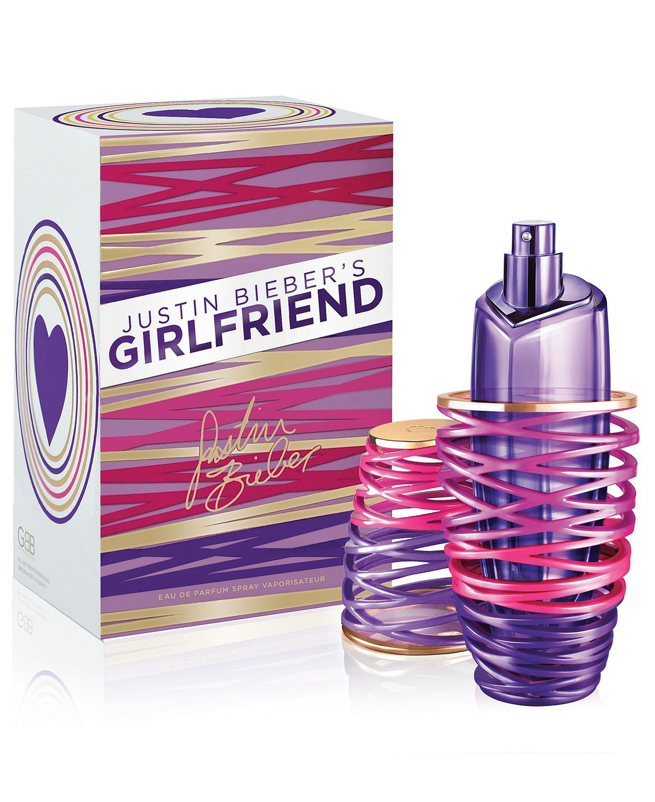 Justin Bieber's Girlfriend Eau de Parfum Spray, 3.4 oz - Justin Bieber - Beauty - Macy's | Perfume, Women perfume, Girlfriend justin bieber
