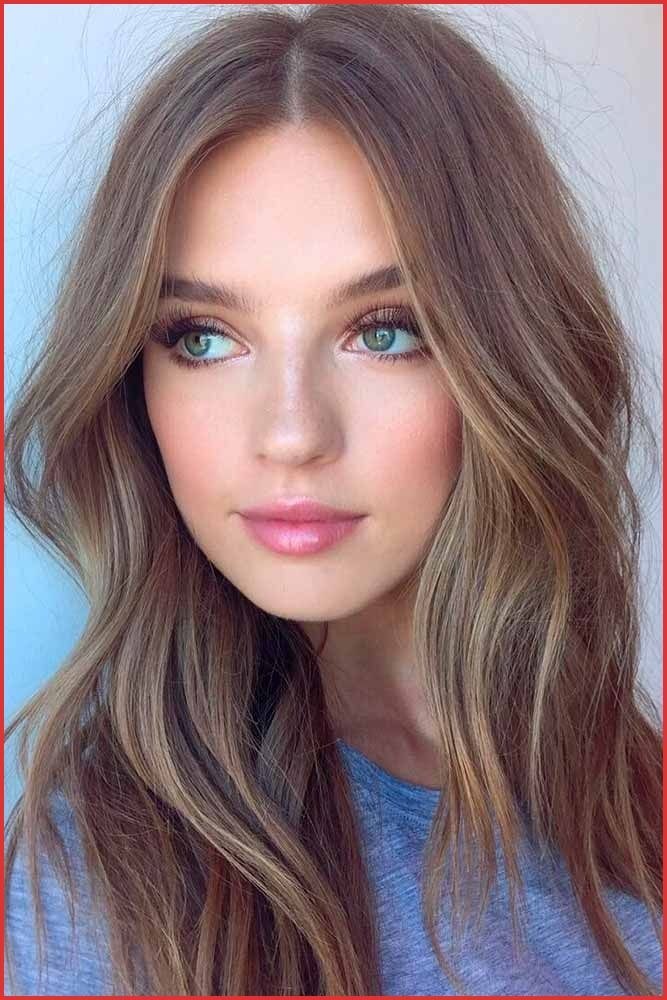 What Hair Color Looks Best With Green Eyes 133027 30 Best Balayage Hair Colors Ideas S Of B Dark Blonde Hair Color Hair Pale Skin Brunette Hair Color