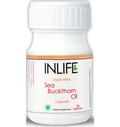 Inlife - Sea Buckthorn Oil – Omega 7,3,6,9 (30 Veg. Capsules) - Hair / skin / Nails - Health Nutrition - Health & Fitness