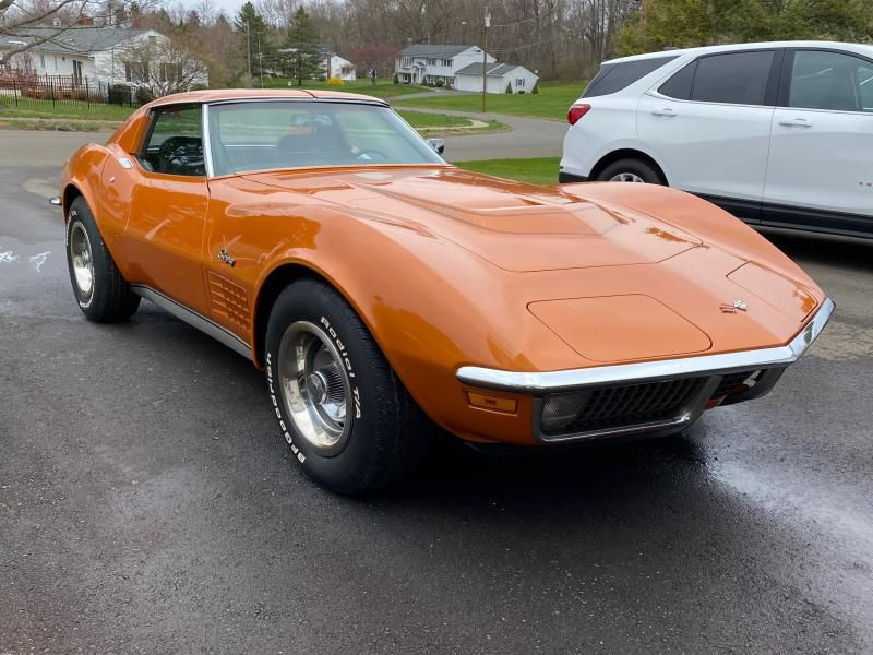 1971 Corvette T Top For Sale In Connecticut Lt 1with Never Any Body Damage In 2020 Corvette For Sale Chevy Corvette For Sale Corvette