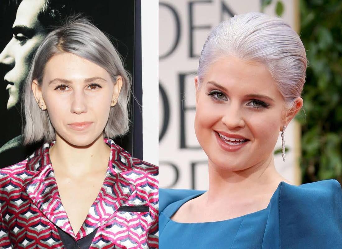 el cabello gris platino se postula como el color de moda del ao - Lazartigue Color