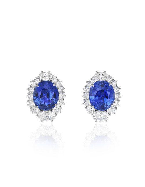 The Fabulous Chopard Jewels Of Diana Engagement Earrings Chopard Earrings Princess Diana Jewelry