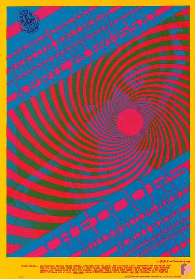 Avalon Ballroom 4/14-15/67 Doors  Miller Blues Band  Haji Baba
