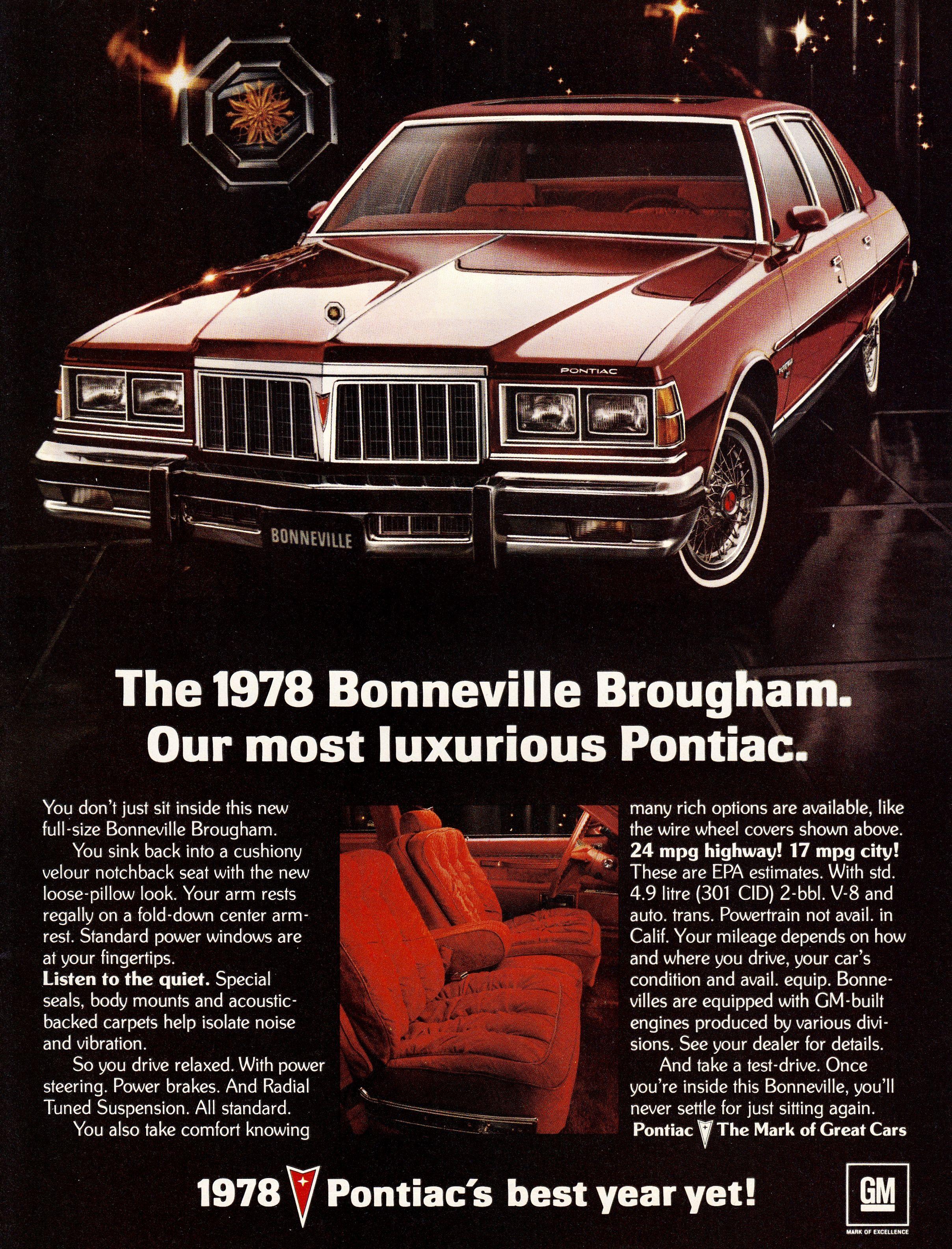 1978 pontiac bonneville brougham pontiac pontiac bonneville