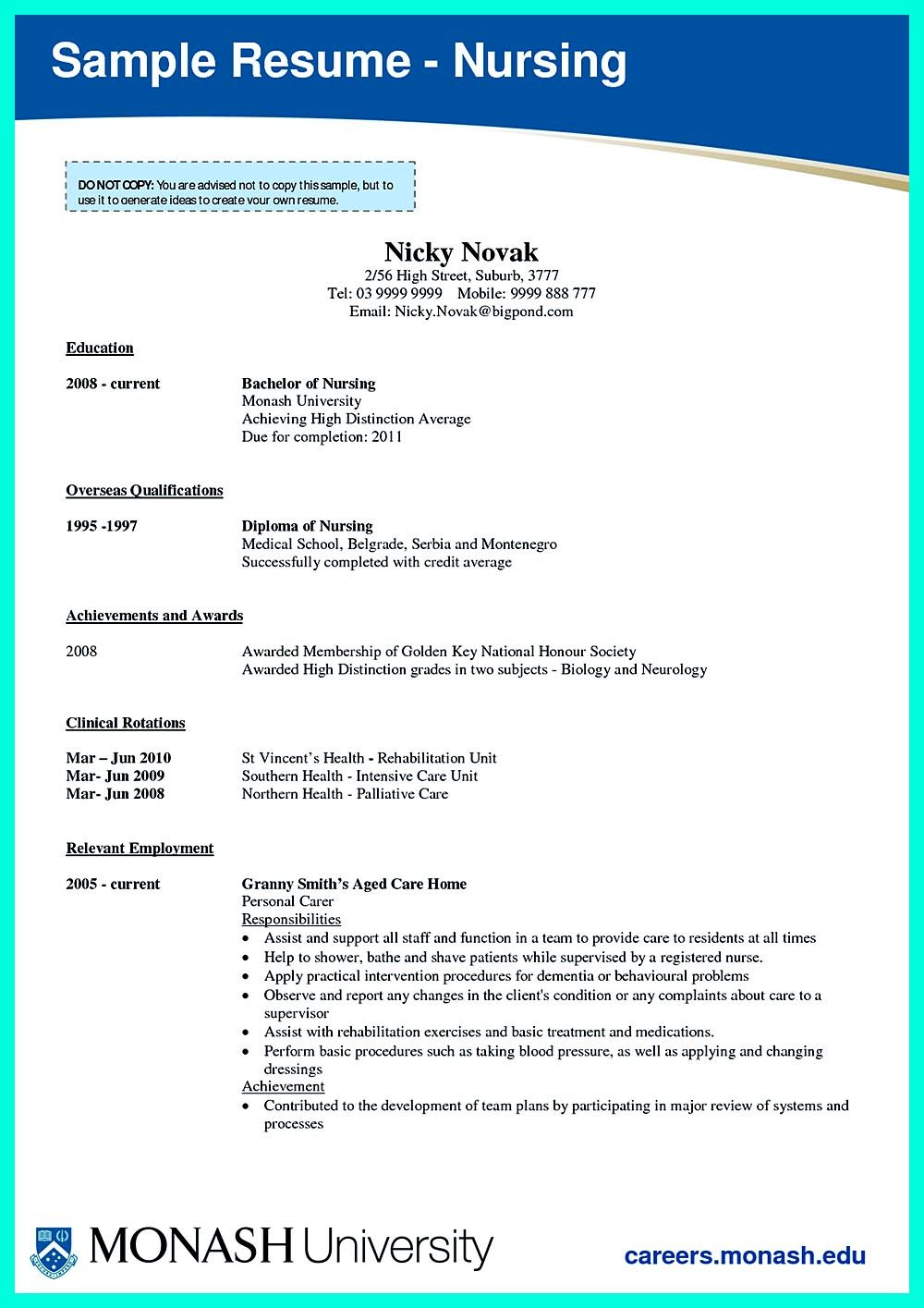 Critical Care Nurse Resume Has Skills Or Objectives That Are Written To  Document Clearly About Your Skills. The Resume Also Displays Your  Experience I