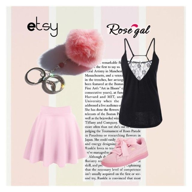 """""""Pink story"""" by blingauto on Polyvore featuring мода и Puma"""
