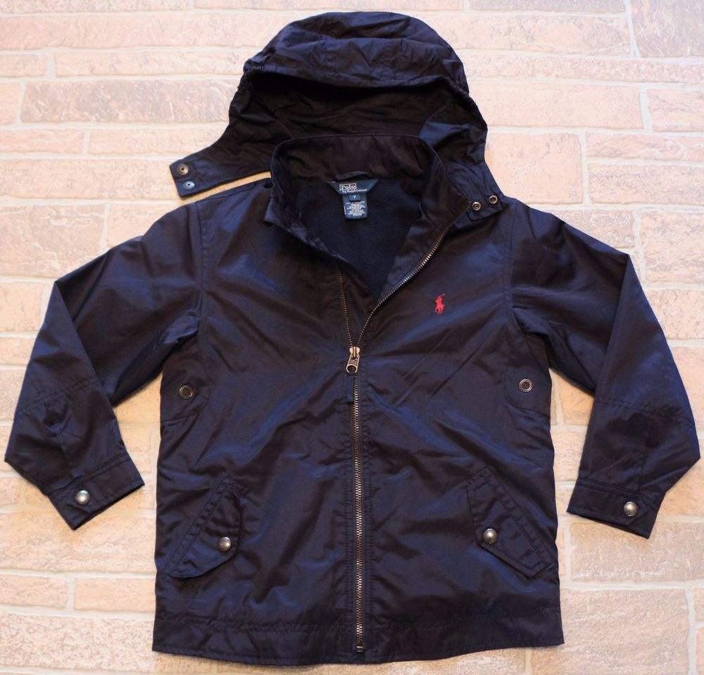 e8ddf45fc Polo Ralph Lauren Boys 7 Navy Blue Full Zip Jacket Windbreaker Stowaway  Hood #PoloRalphLauren #BasicJacket #DressyEverydayHoliday