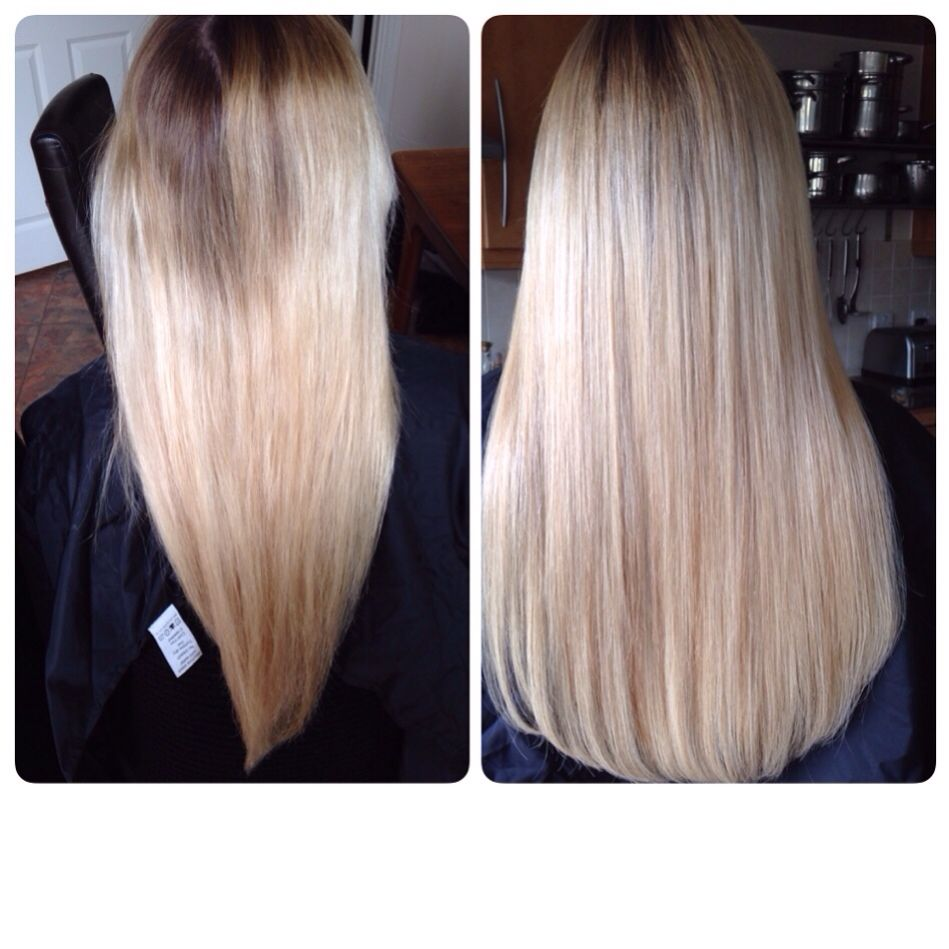 Blonde Russian Standard Remy Aaaa Prestige Hair Extensions Micro