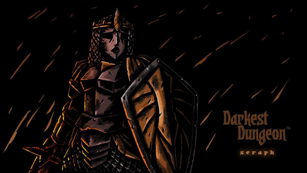 Darkest Dungeon Class Mod Seraph Splash By Jackietejackal On Deviantart Darkest Dungeon Seraphim Dungeon