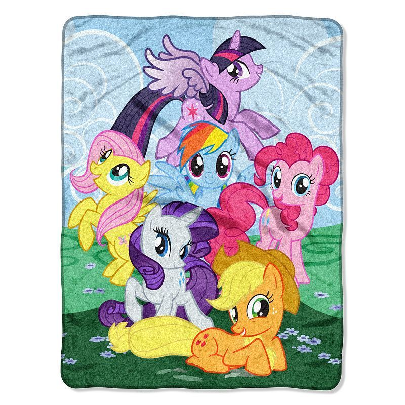 My Little Pony Join The Herd Throw