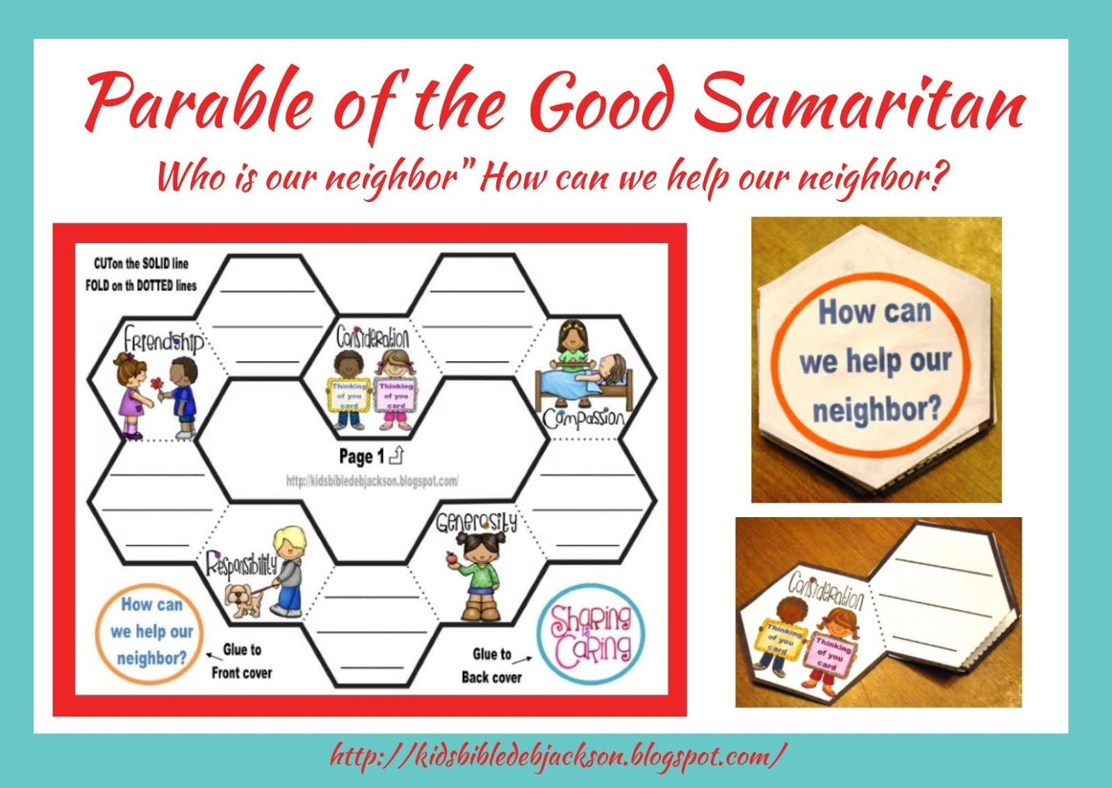 Good samaritan sunday school craft - Bible Fun For Kids Parable Of The Good Samaritan