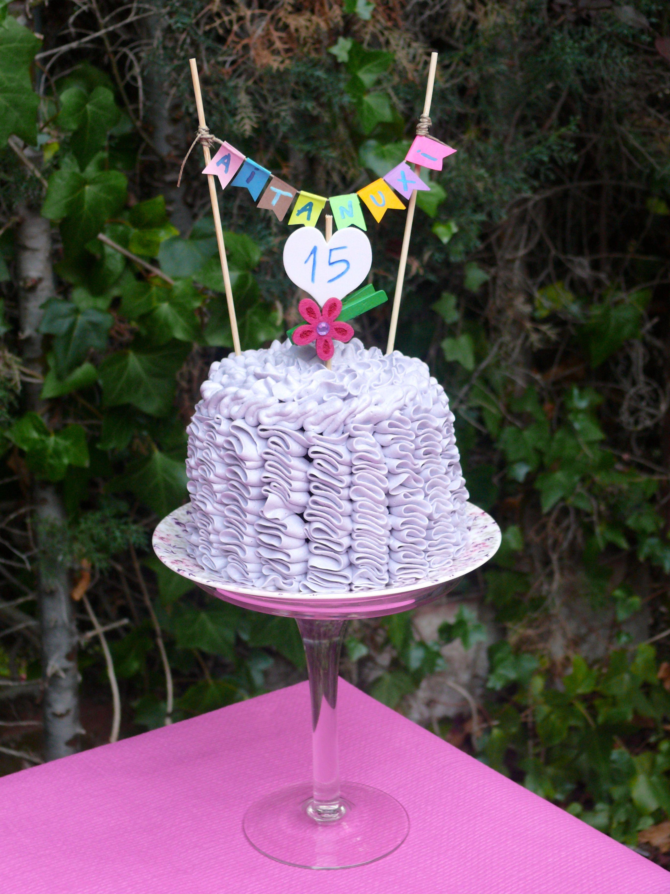 Mini Layer cake ruffle