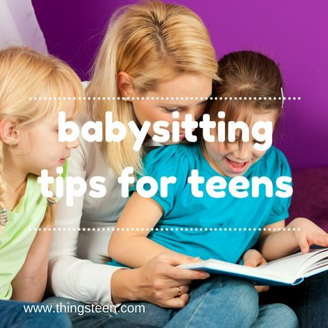 babysitting teens