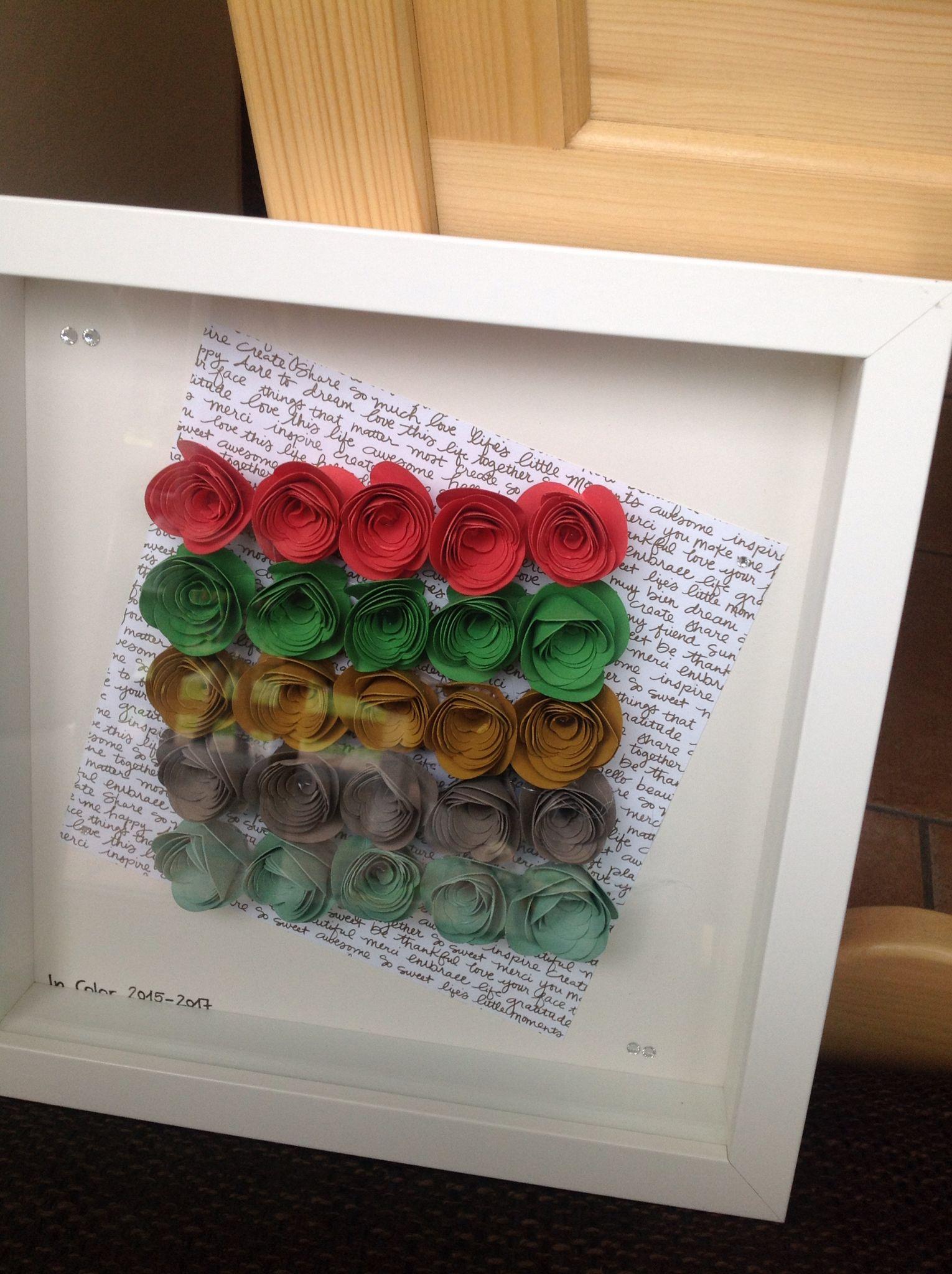 Neue In Color 2015-2017, Spiralblume, neues Designpapier, Riba