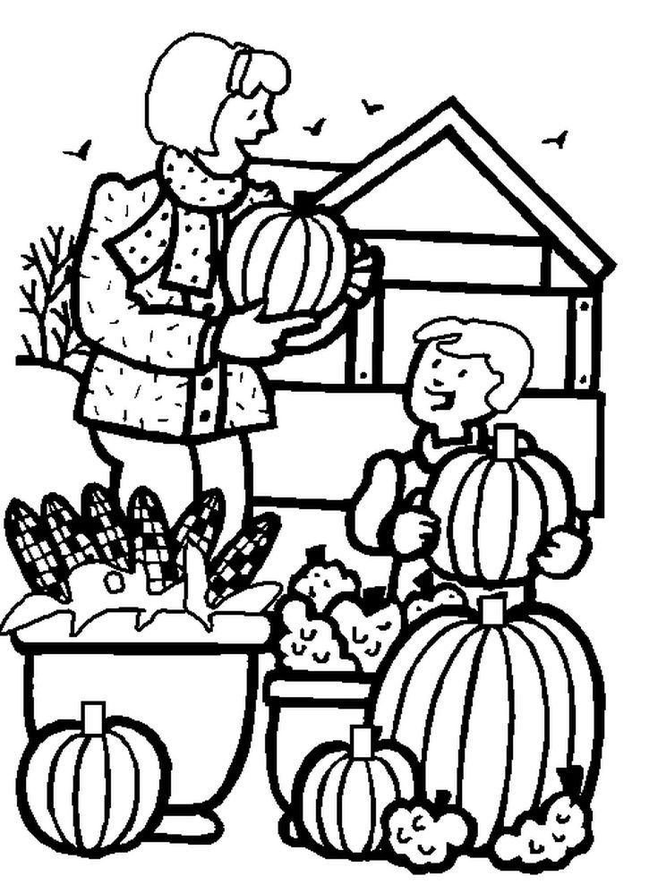 423 Free, Printable Autumn and Fall Coloring Pages | Pinterest