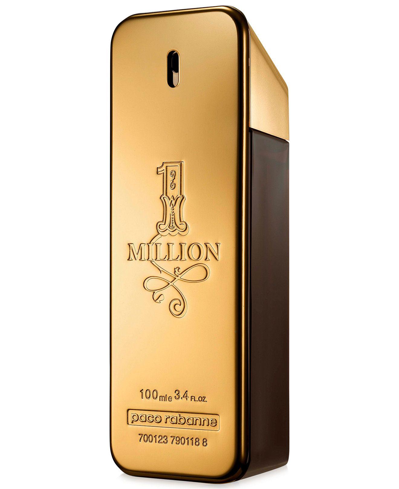Paco Rabanne Men S 1 Million Eau De Toilette Spray 1 7 Oz Reviews Shop All Brands Beauty Macy S In 2021 Paco Rabanne Men Eau De Toilette Men Perfume