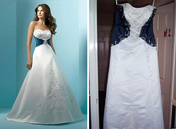 80f6353c806 Wedding Dresses  Ads Versus Reality