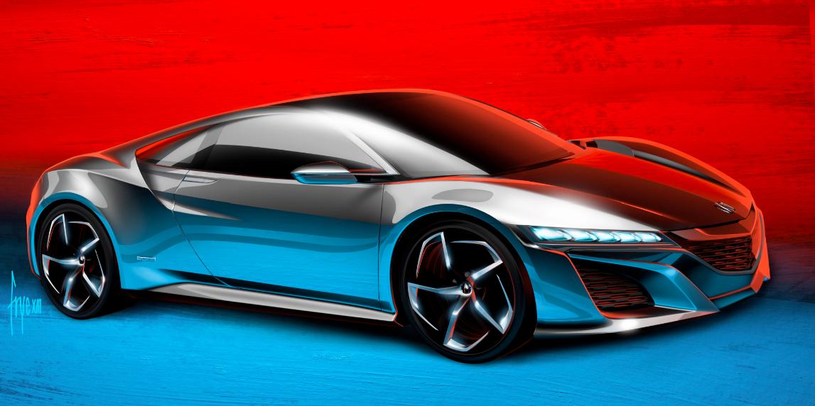 Nsx Future Vehicles Acura Com Honda Supercars Concept Nsx