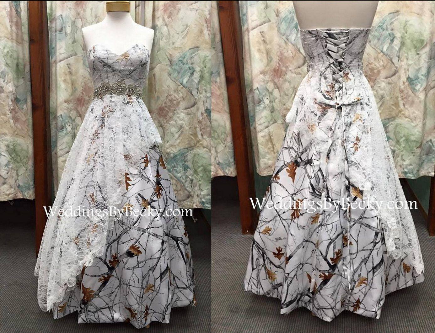 d18de230c10 Camo Wedding Dresses Made In The Usa