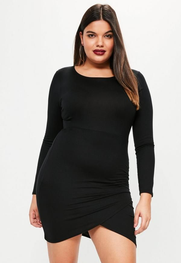 1fd42de9252 Flaunt your curves in this lbd with cold shoulder details and front slit.