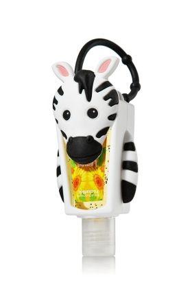 Zebra Hand Sanitizer Holder Bath And Body Works Bath N Body