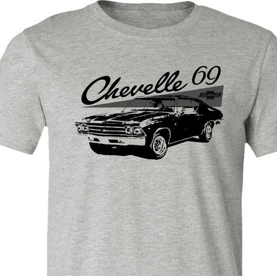 d54e69e9 Muscle Car T-Shirt-1969 Chevelle Car by SpokeNwheelz on Etsy ...