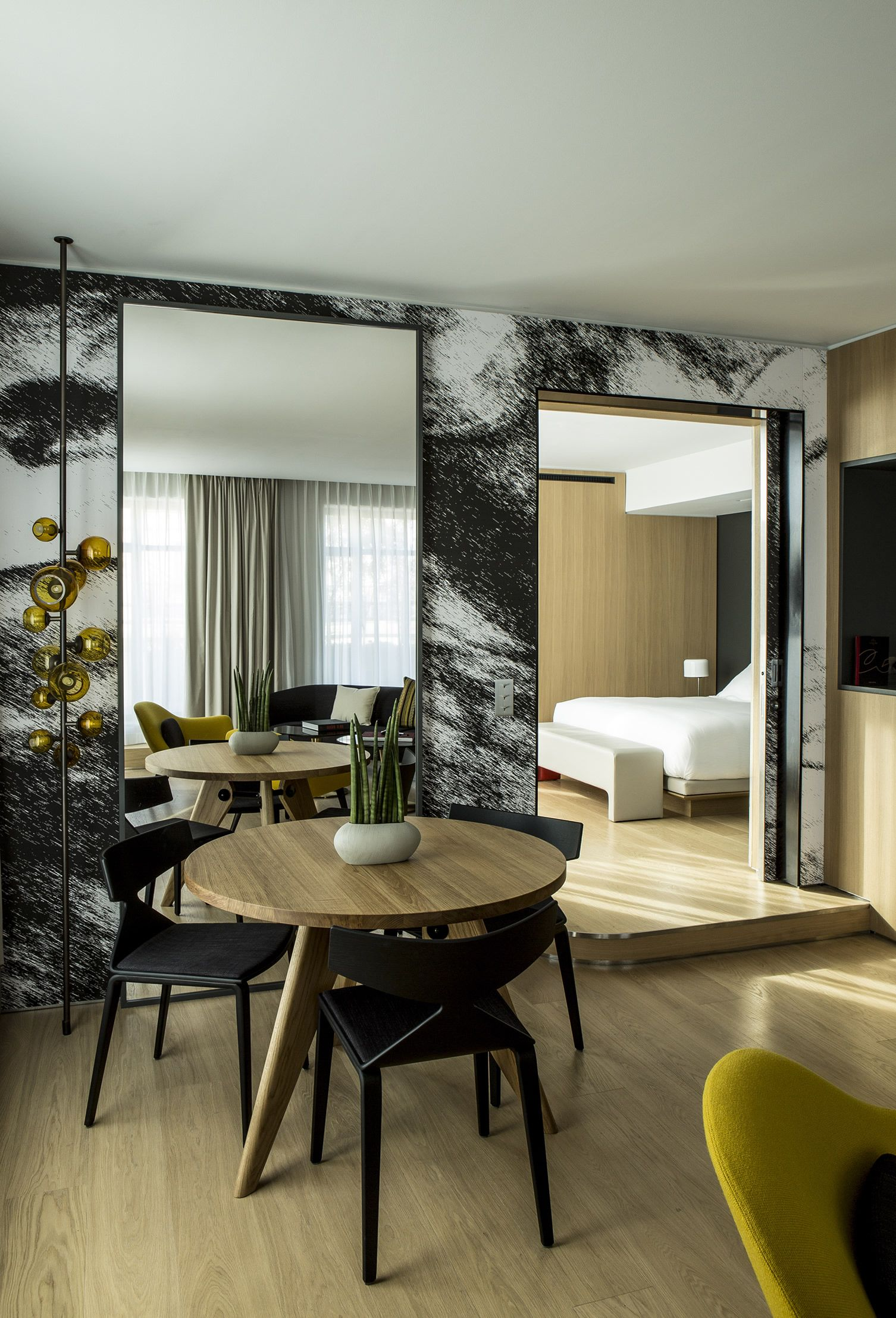 Telecommunication Room Design: Connect With Historical Paris During A Stay At This 1930s