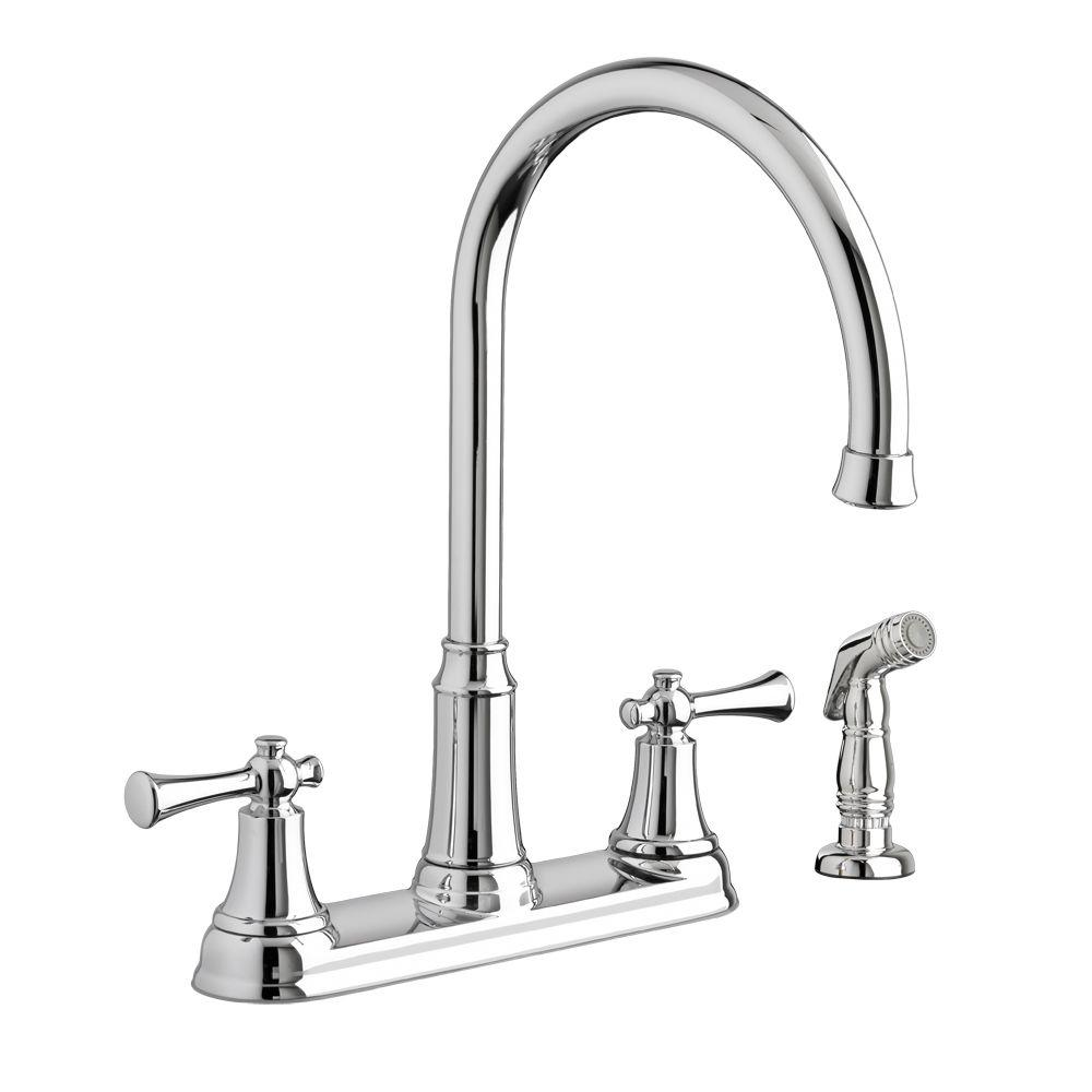 American Standard Portsmouth Kitchen Faucet Kitchen Faucet Design Best Kitchen Faucets