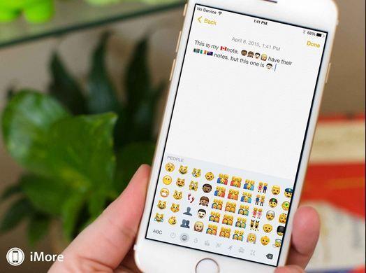 iPhone emoji keyboard Get the latest iPhone emoji