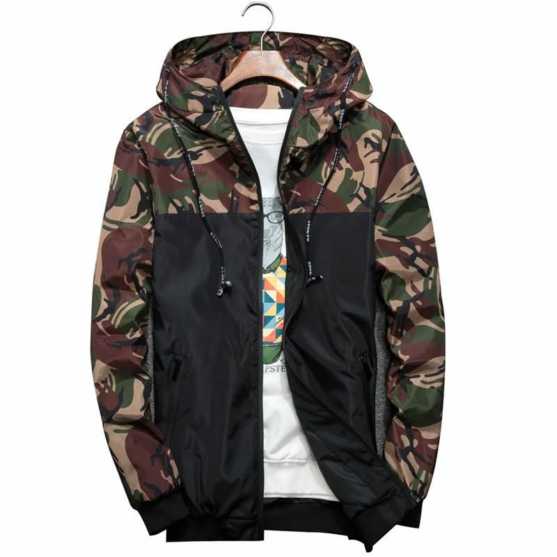 a128f00110066 2018 New Bomber Jacket Men Hip Hop Slim Fit Flowers Pilot Bomber Jacket  Coat Men s Hooded Jackets Plus Size 4XL. Yesterday s price  US  19.17  (16.80 EUR).