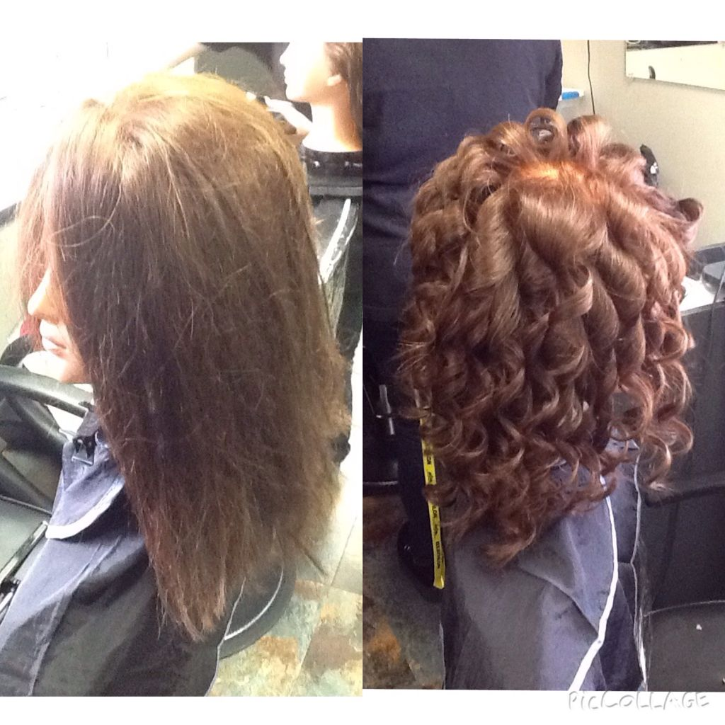 thermal style hair thermal curled hair using a 3 4 inch marcel curler 1731 | 220472551c2819c59f91dfe75855f53f