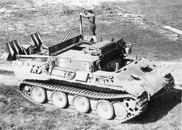 A BergePanther tank recovery vehicle