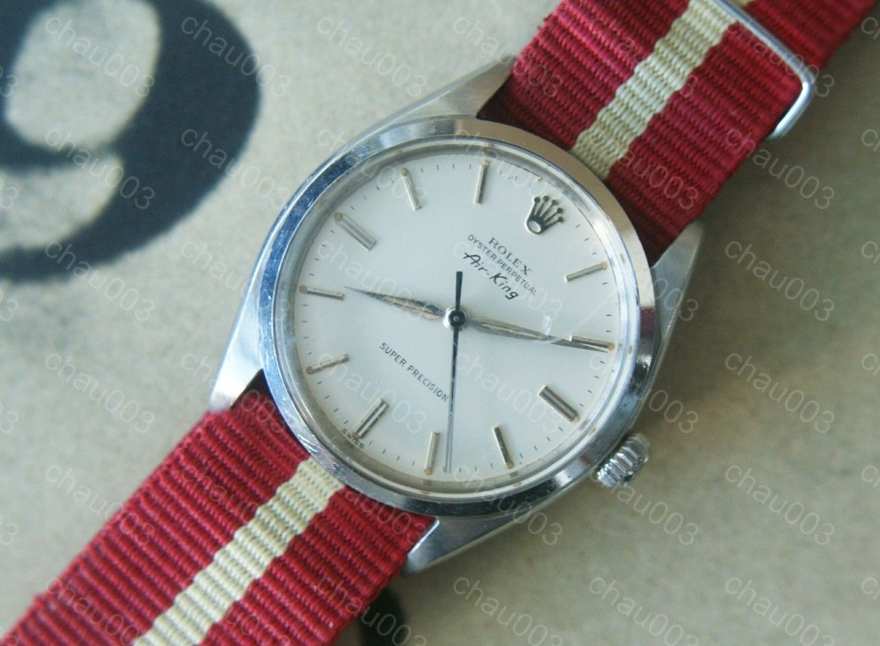 1950's Steel ROLEX AIR KING Oyster Perpetual Super