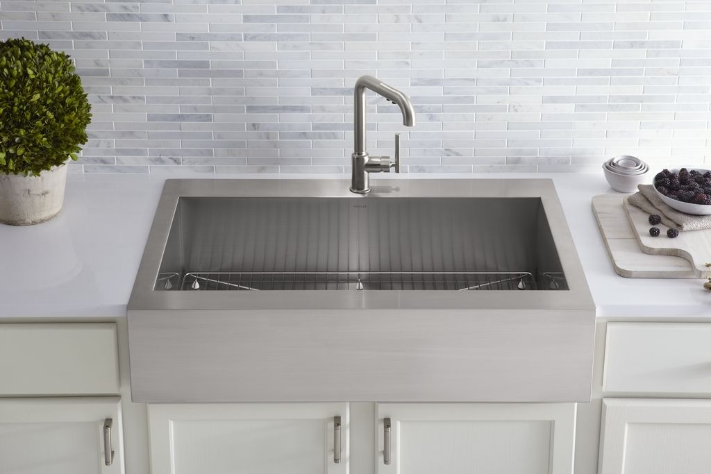 Kohler Kitchen Sinks Traditional Materials To Create A Modern