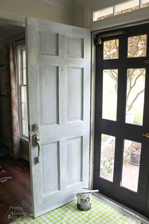 How To Strip Paint Off A Door Painted Front Doors Painted Exterior Doors Metal Doors Exterior