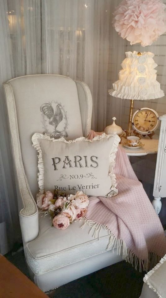 Shabby Chic Excuisite Planter Stand Home Decor Paris Themed