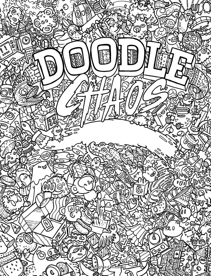 Doodle Invasion ZifflinS Coloring Book Pdf