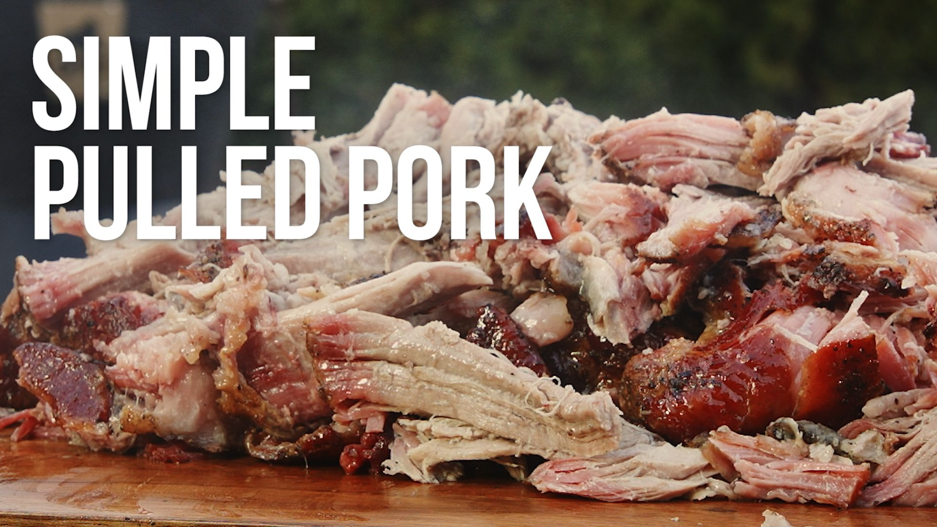 Simple Pulled Pork | Recipe in 2019 | Pulled pork recipes ...
