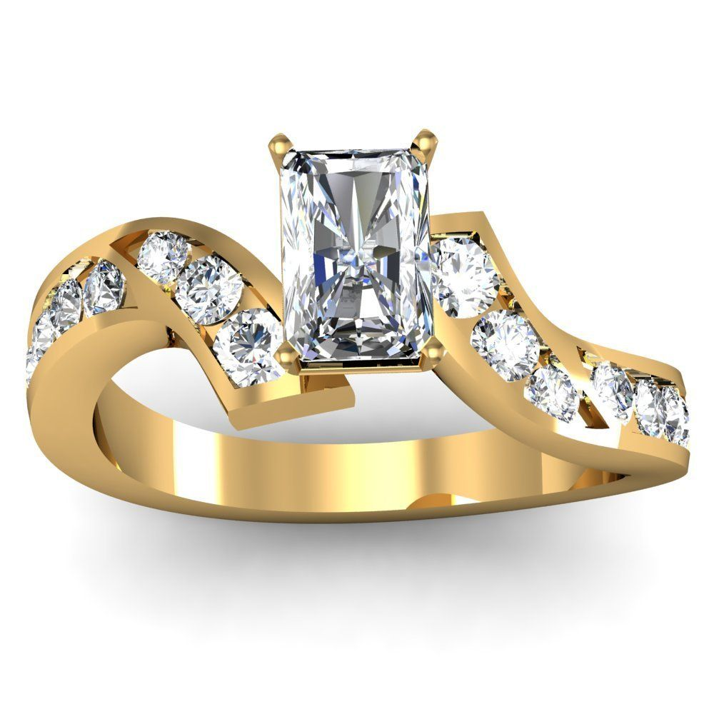 Radiant Channel Set Engagement Ring Here S A Very