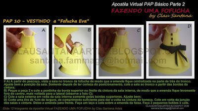 Arteira's Atelier - saia chinesinha para fofucha- PAP