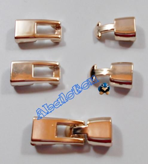 cierres ccb color oro rosa 24mmx13mm
