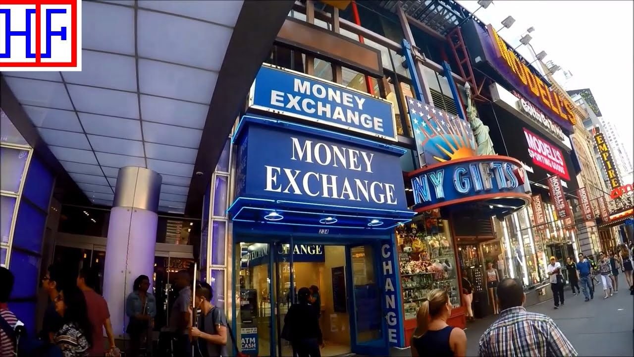 New york city nyc currency exchange tourist information